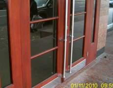 Дверные ручки из нержавеющей стали