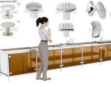 Проектирование кухни из металла