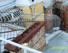 Ограждения на крыше